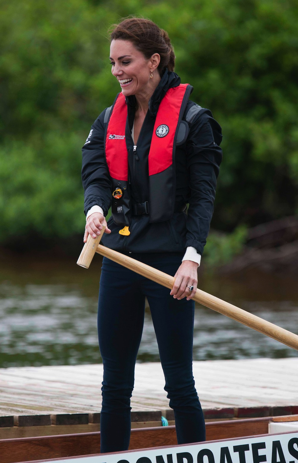 kate middleton dragon boat race