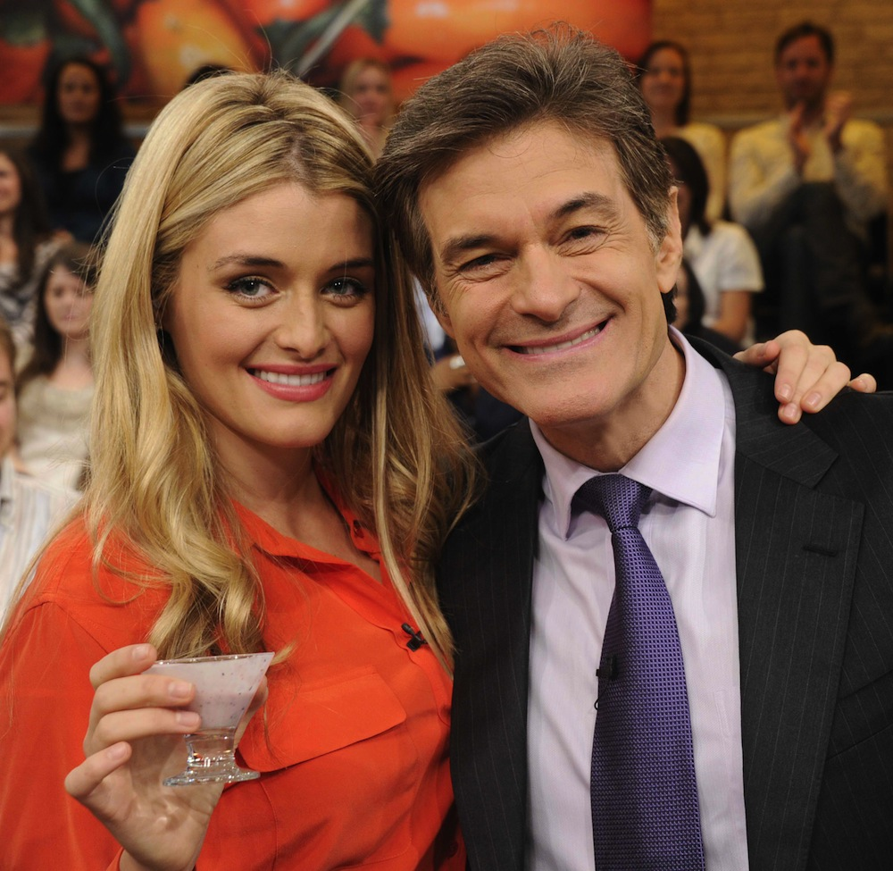 New Grandfather Dr Oz Admits He Loves Diaper Duty