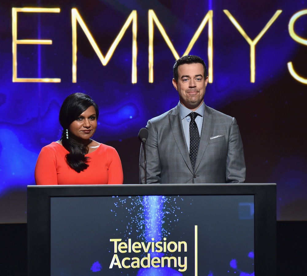 mindy-kaling-carson-daly-emmy-nominations