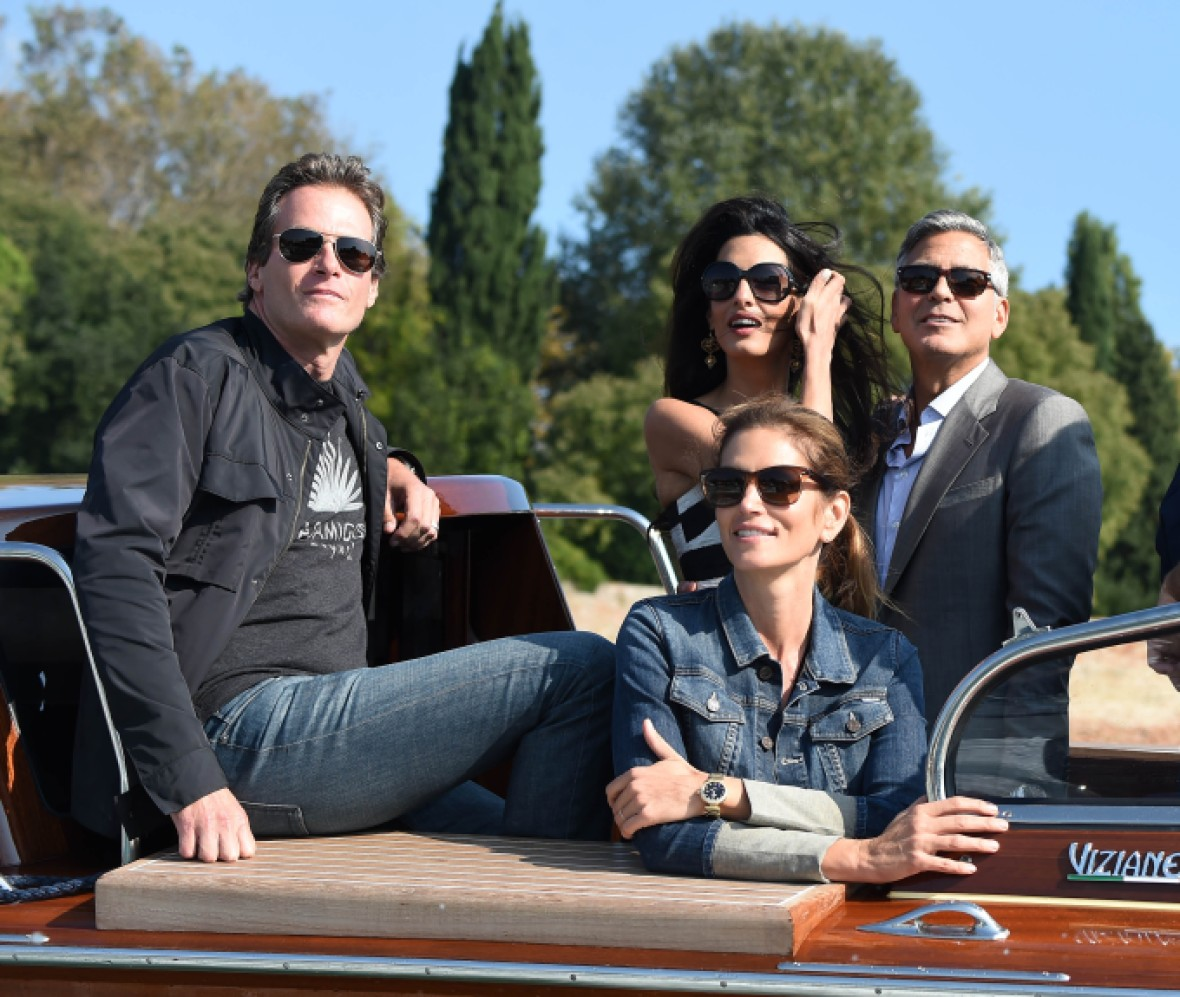 george clooney and amal venice