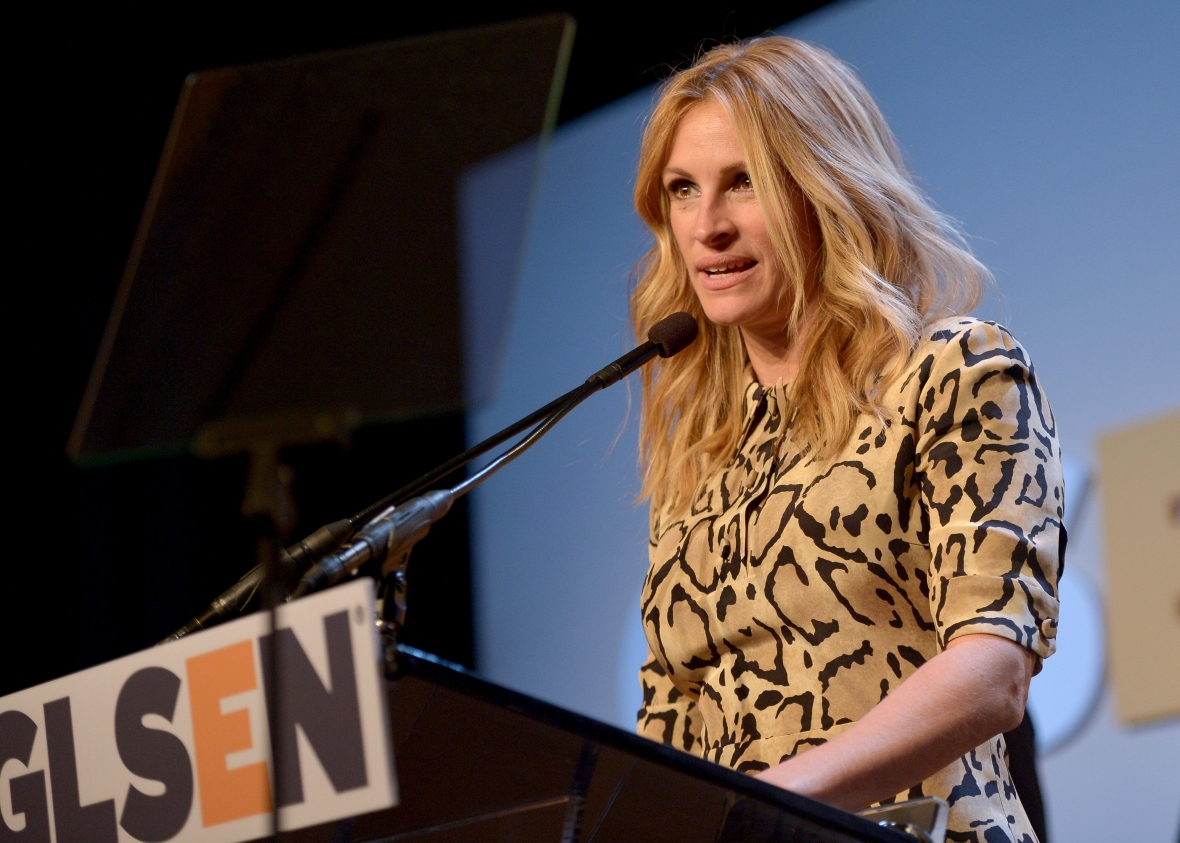 julia roberts accepts new award