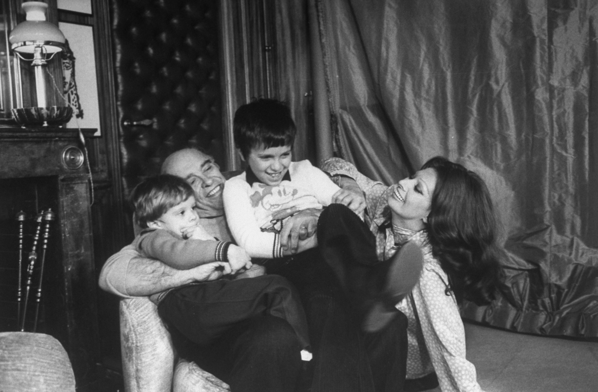 sophia loren and family