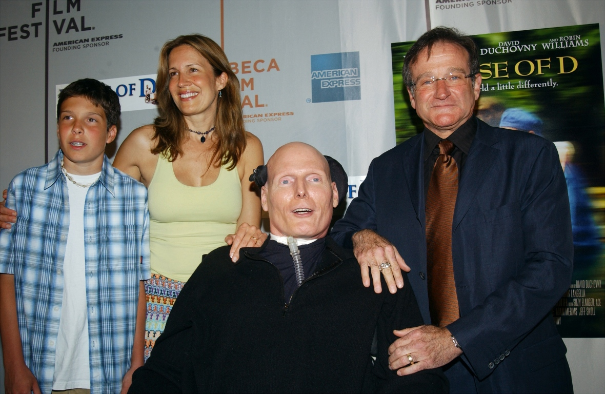 christopher reeve & dana reeve