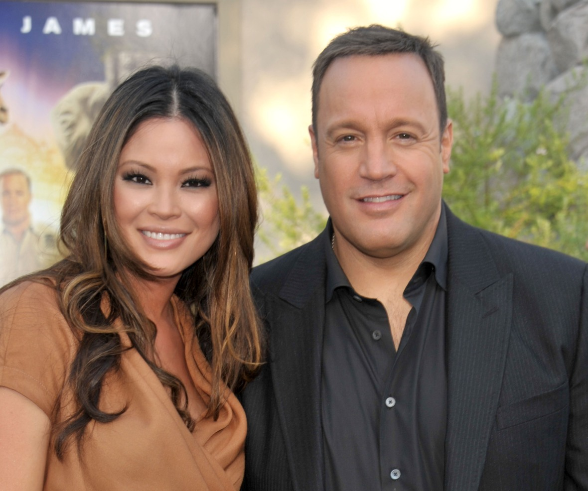 kevin james & wife