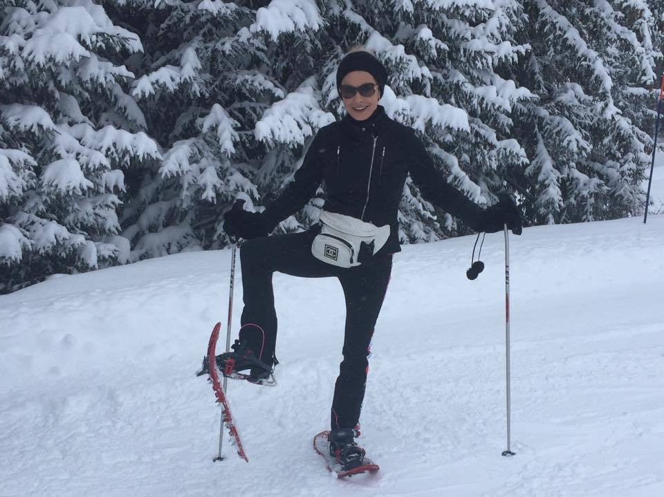 catherine zeta-jones skiing