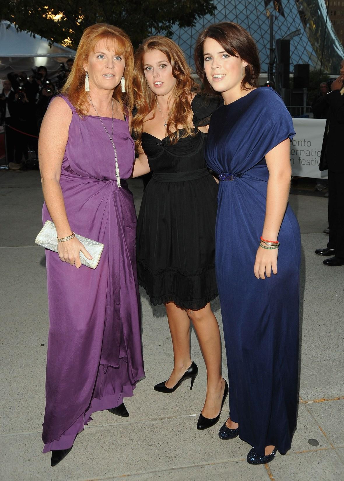 sarah ferguson & daughters