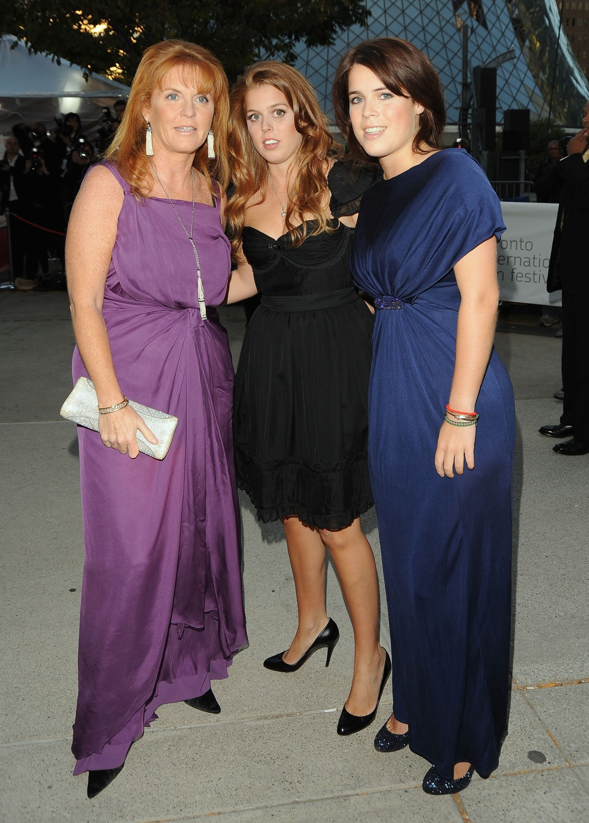 sarah ferguson & daughters