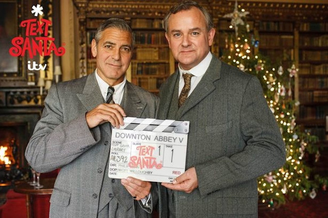 george clooney 'downton abbey'