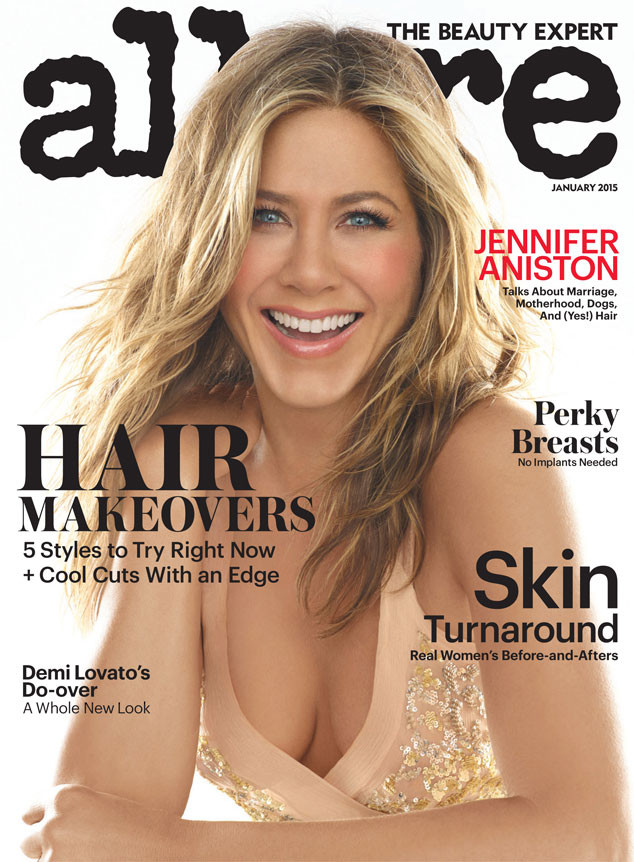jennifer aniston allure magazine