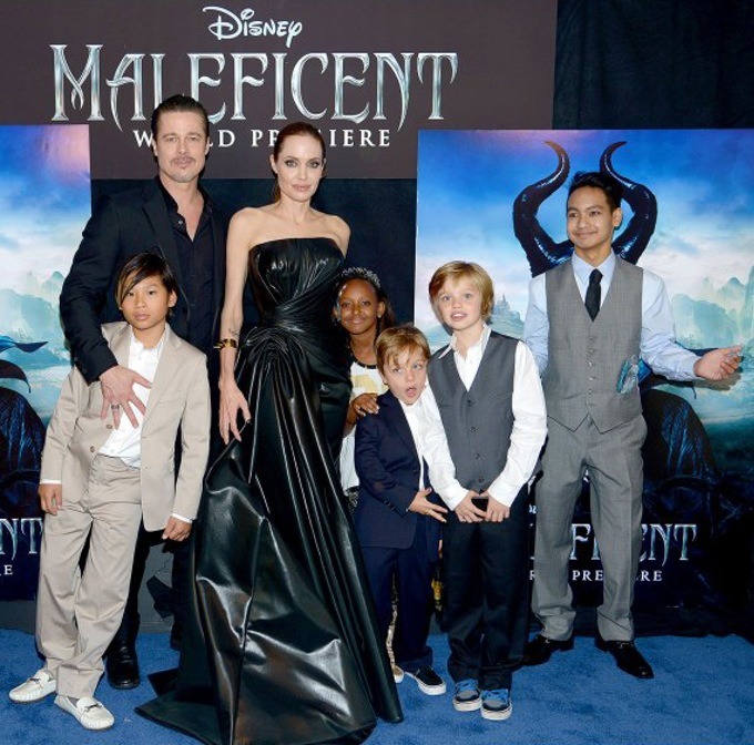 jolie-pitt kids maleficent premiere