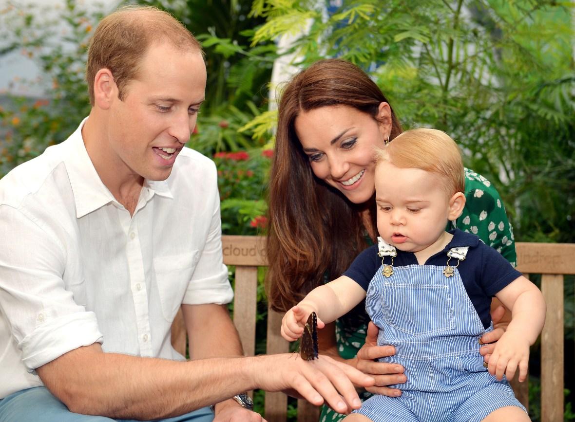 kate, william, prince george