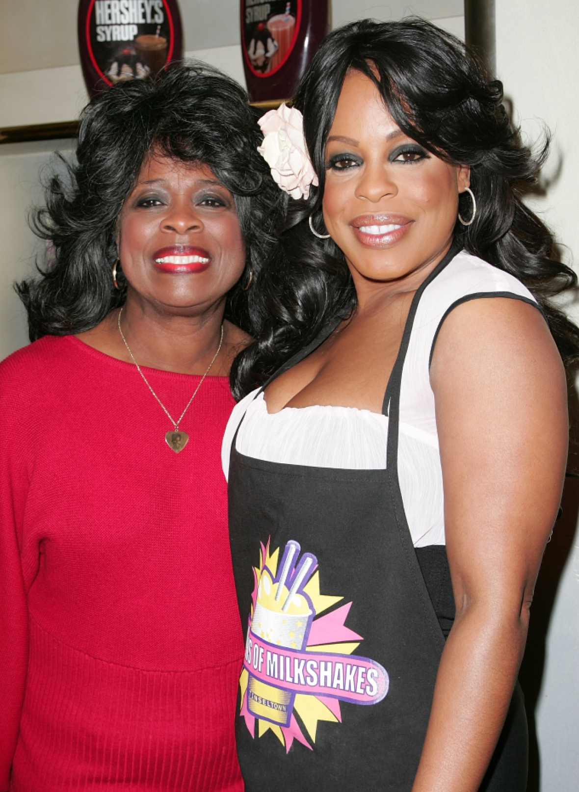 niecy nash and mother