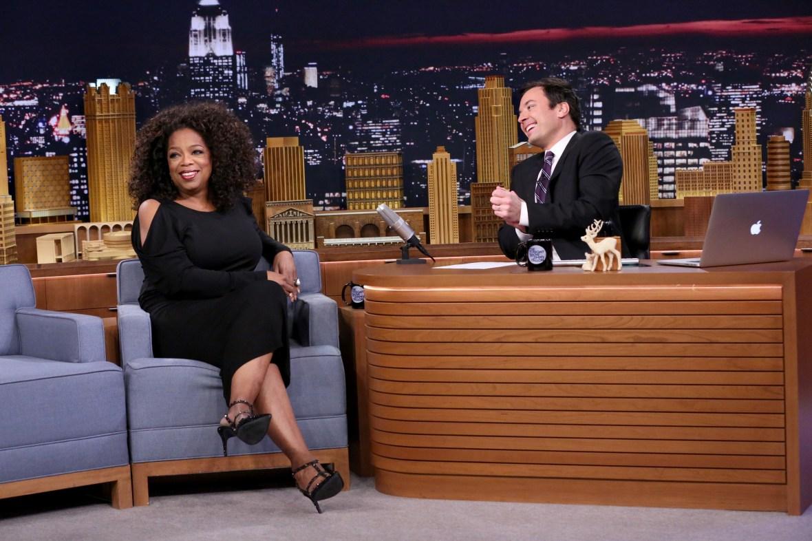 oprah winfrey and jimmy fallon