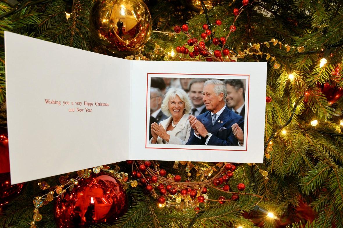 prince charles and camilla christmas card