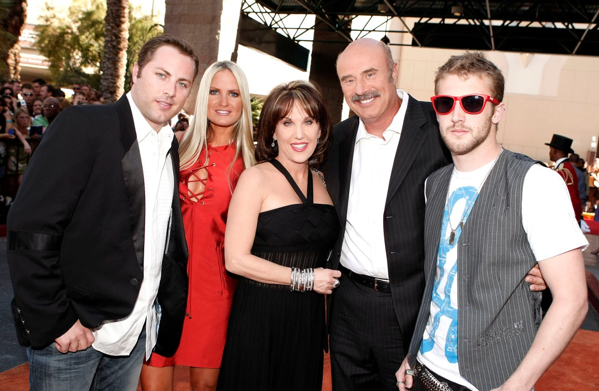 robin mcgraw family