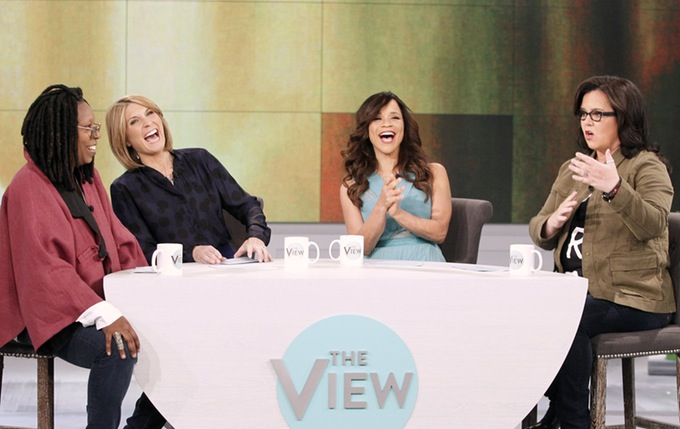 rosie // whoopi // 'the view'