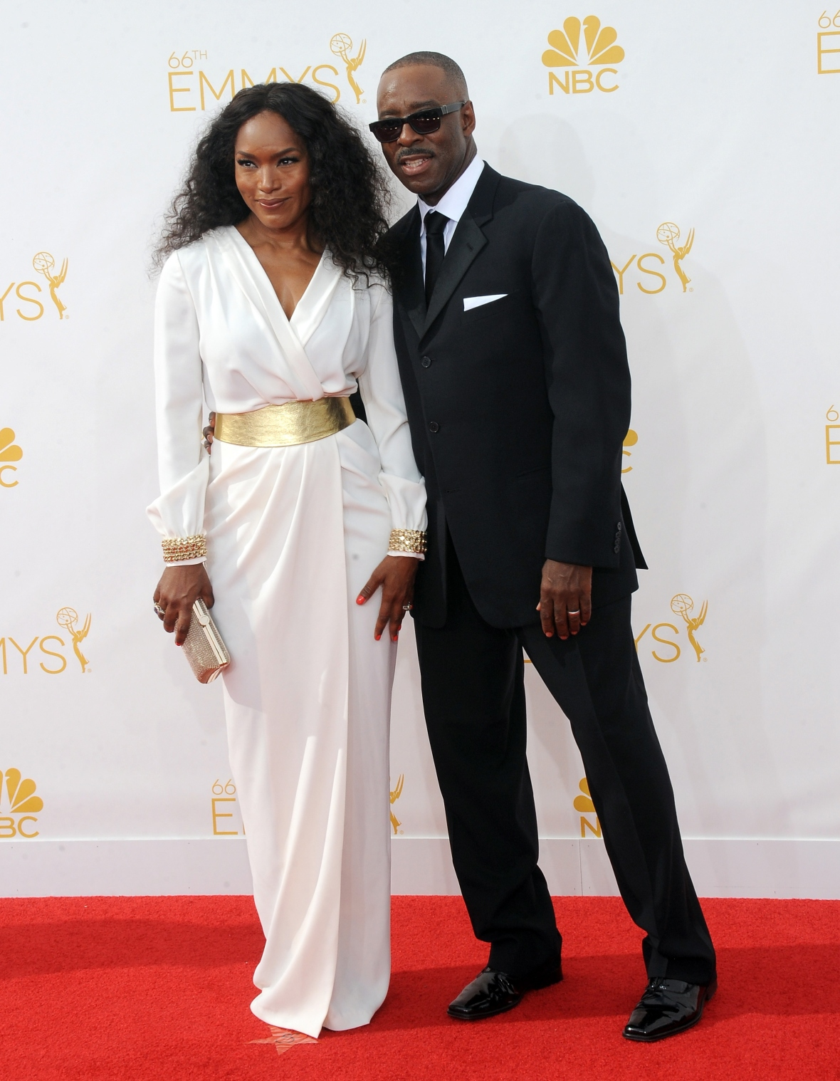 angela bassett husband