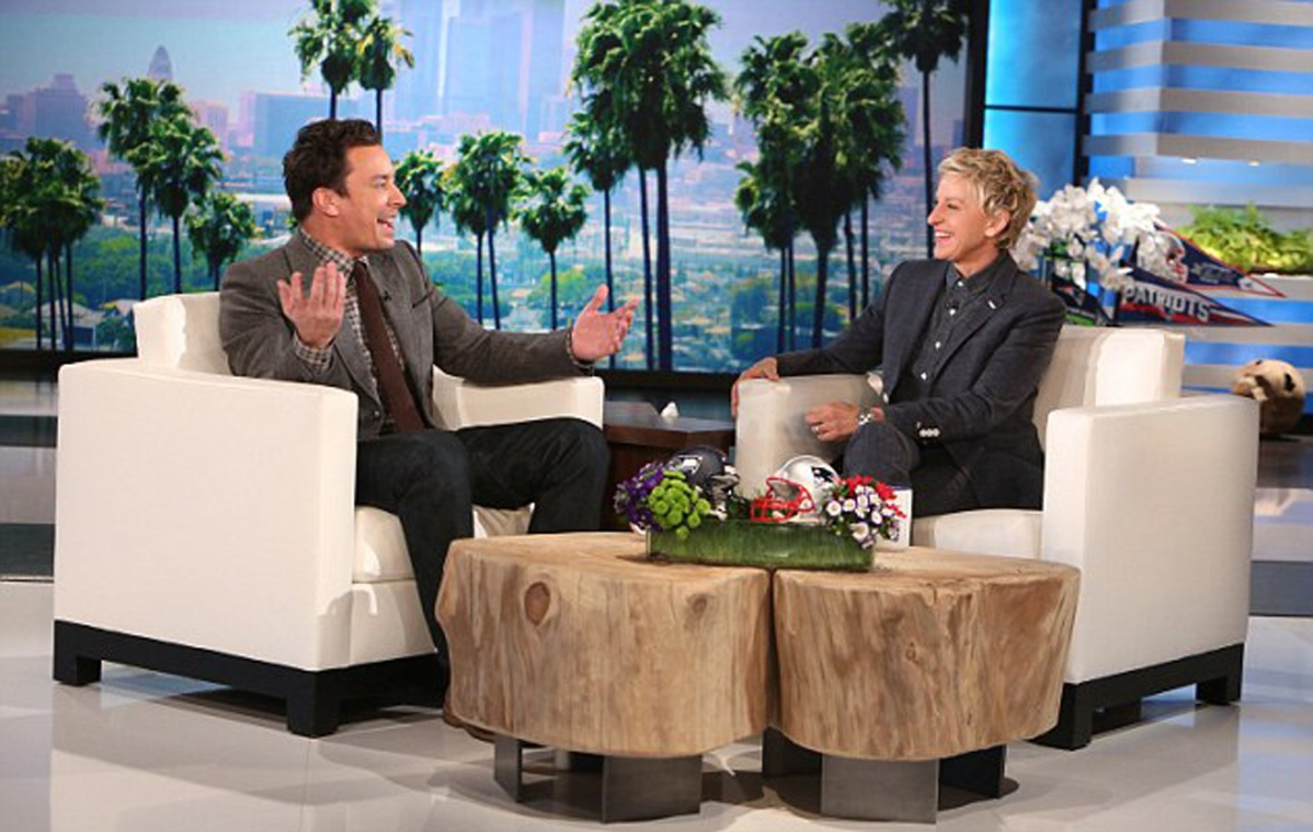 jimmy fallon, 'ellen show' 2