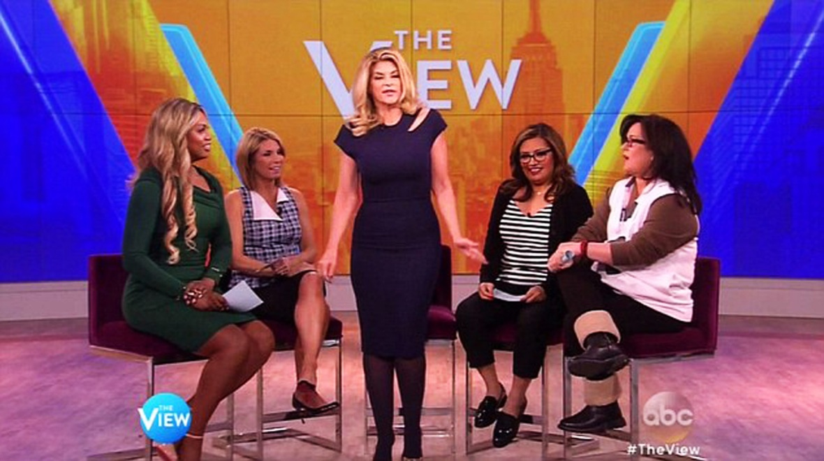kirstie alley, 'the view'