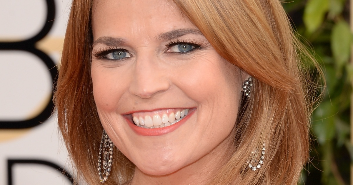 Savannah Guthrie Reveals Secret to Losing Her Post ...