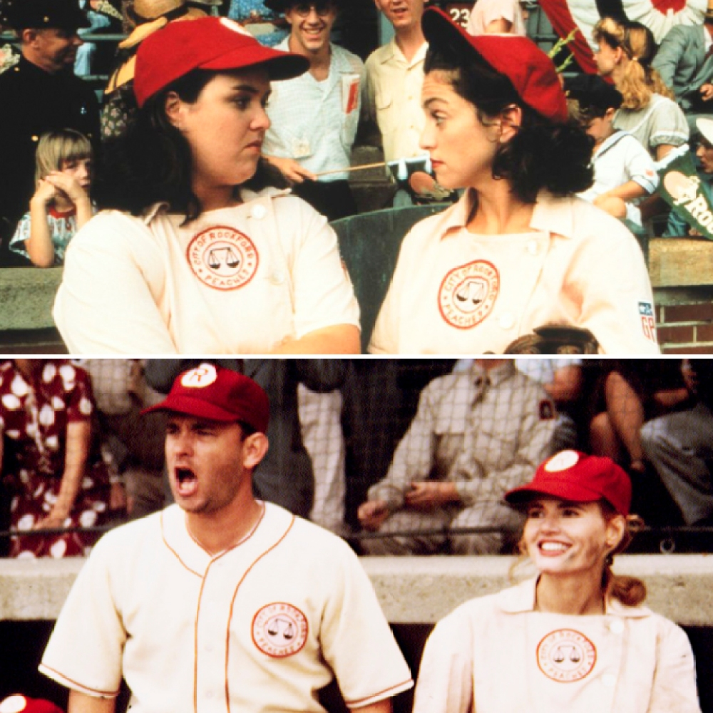 'a league of their own' cast