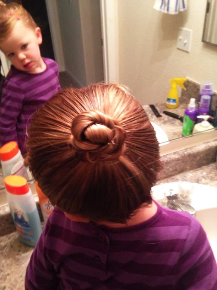 dad, daughter hair 2