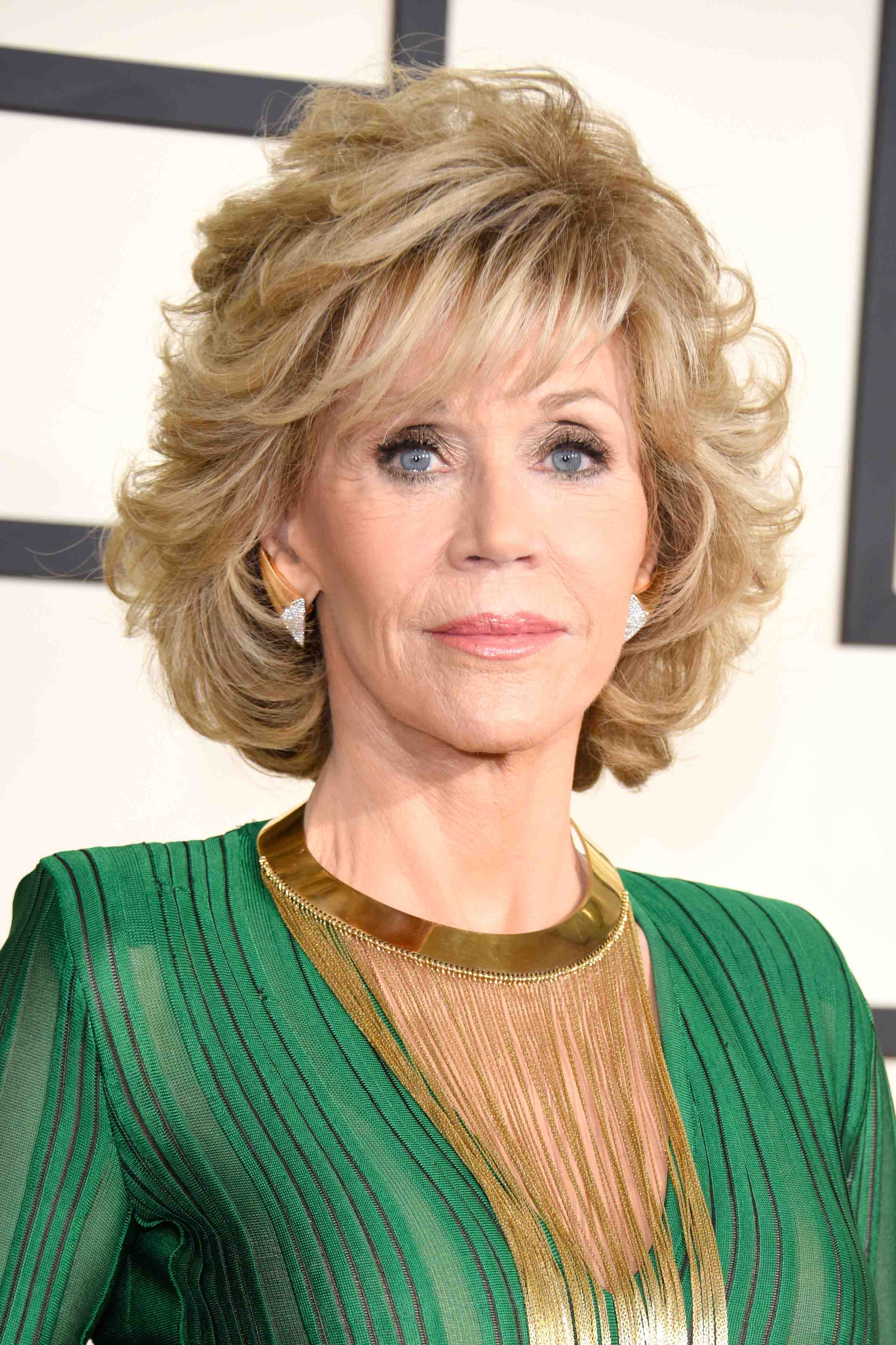 092362a0 Jane Fonda, 77, Wows in a Jumpsuit at the Grammy Awards — See the ...