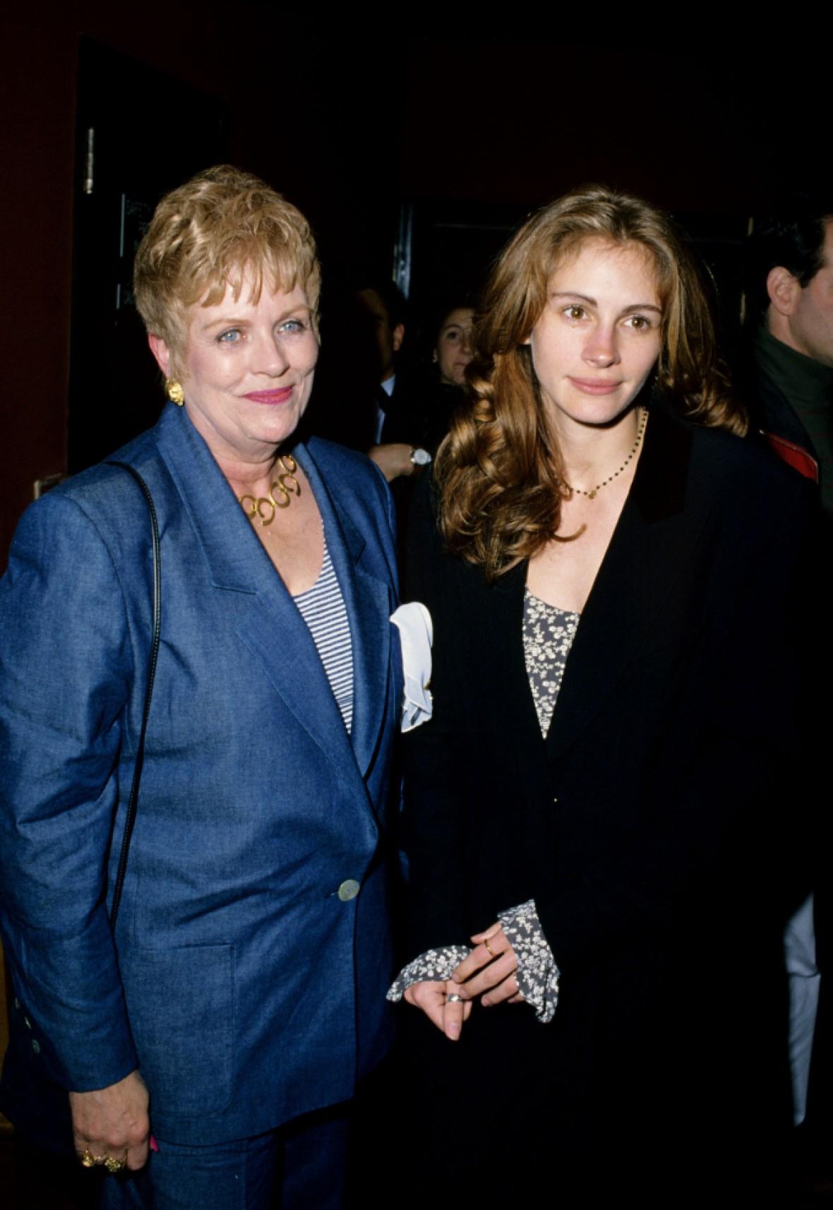 julia roberts' mother