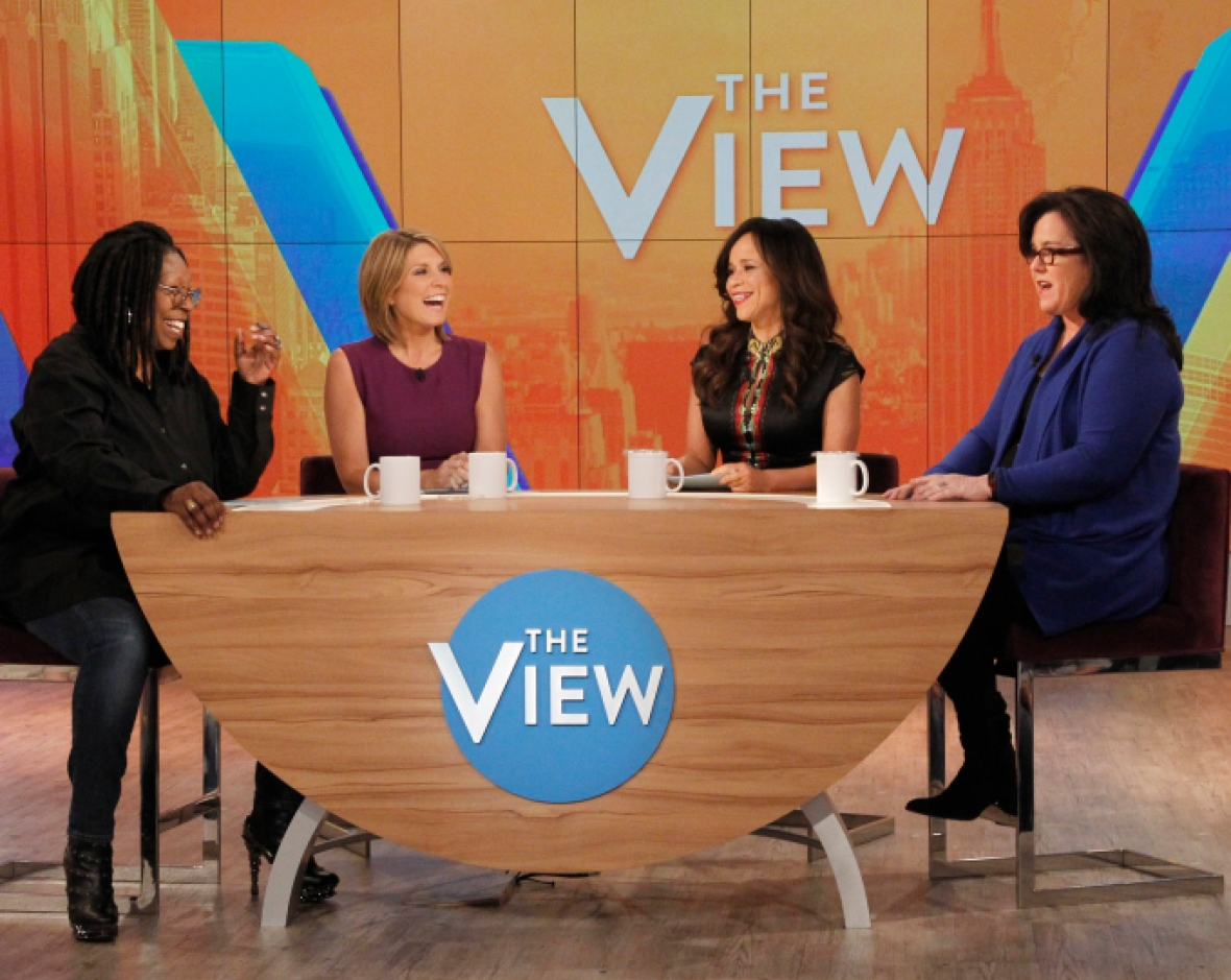rosie o'donnell 'the view'
