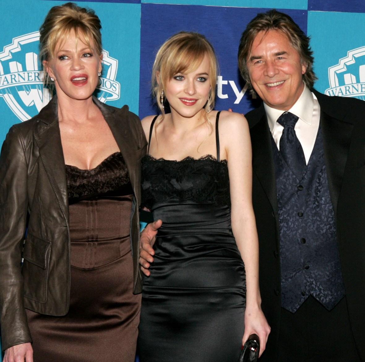 dakota johnson and parents