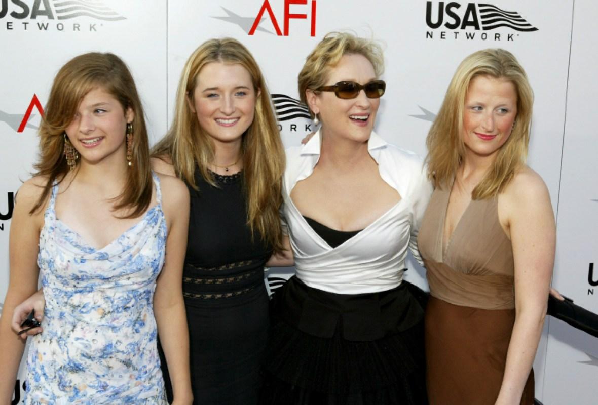 meryl streep's daughters