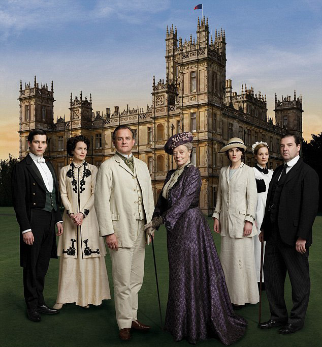 'downton abbey' cast