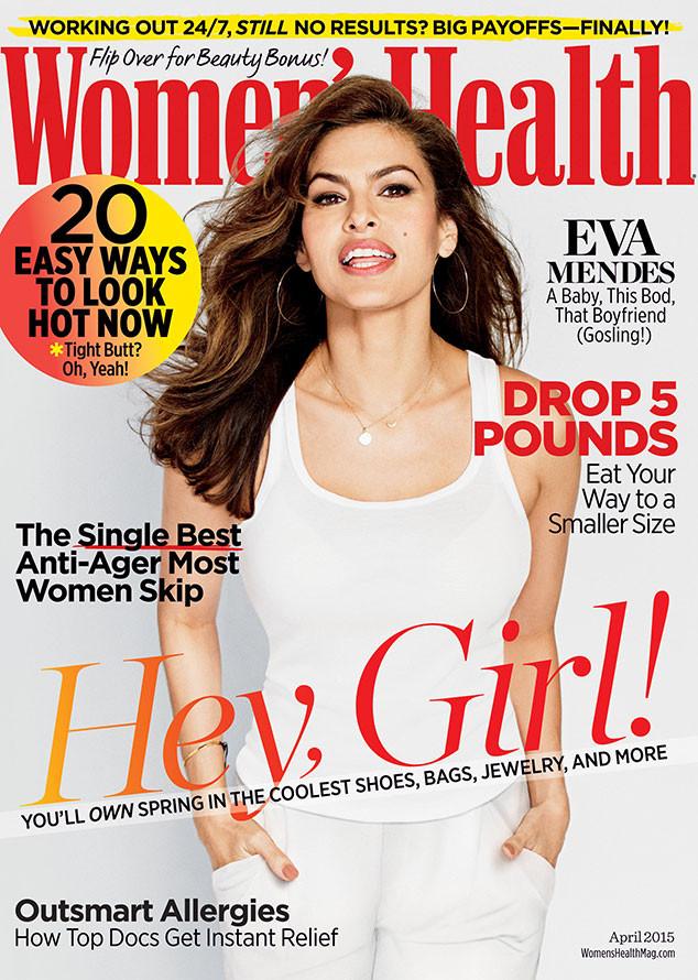 eva mendes 'women's health'