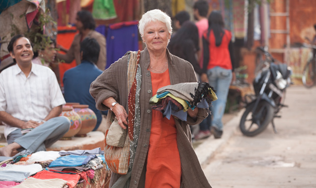 judi dench 'the second best exotic marigold hotel'