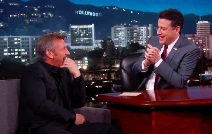 sean penn and jimmy kimmel