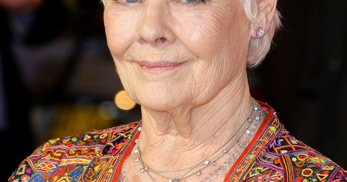 Judi Dench: 'I Was Once Told I Didn't Have a Pretty Enough ...