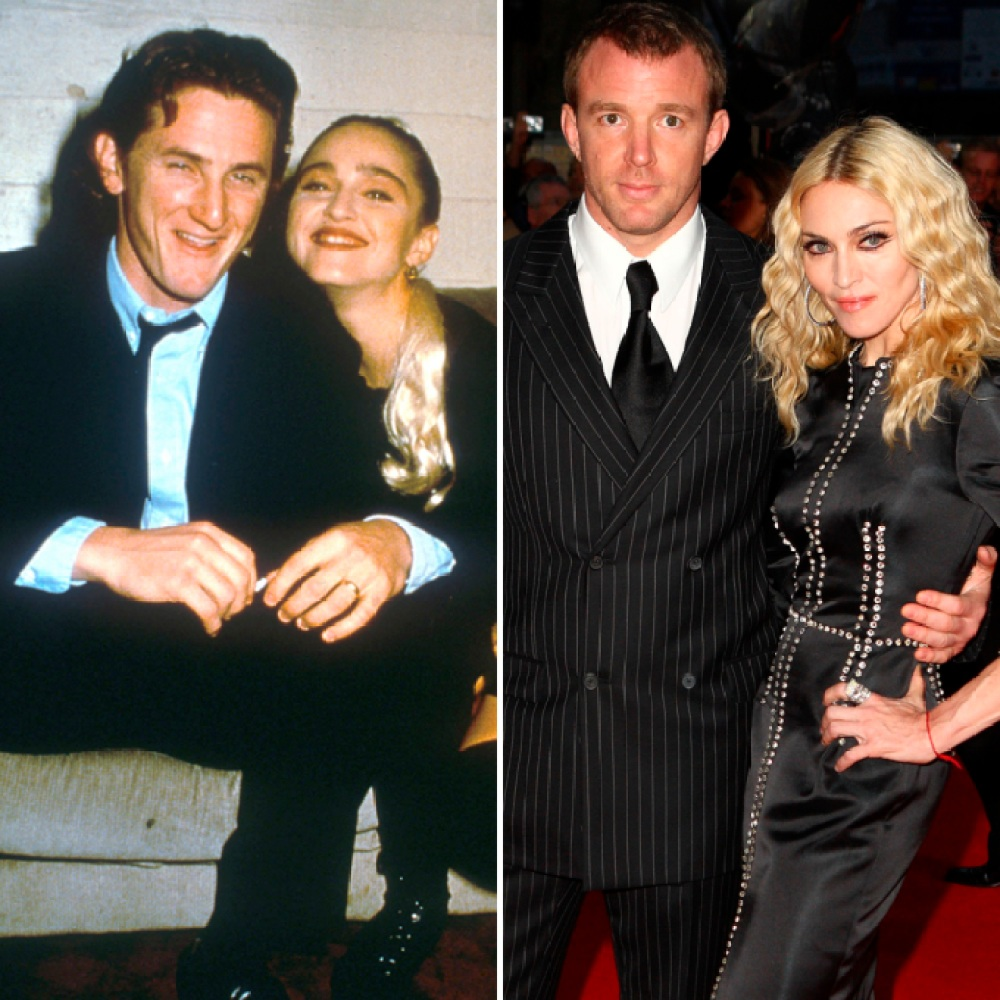 madonna, sean penn, guy ritchie