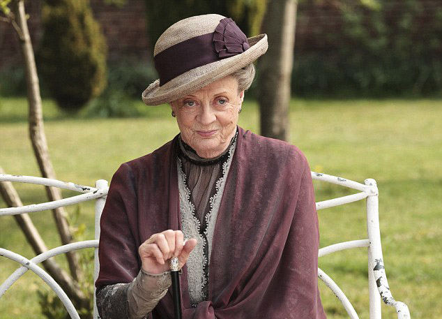 maggie smith 'downton abbey'