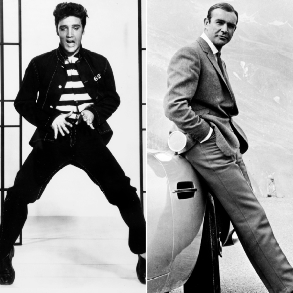 sean connery and elvis presley