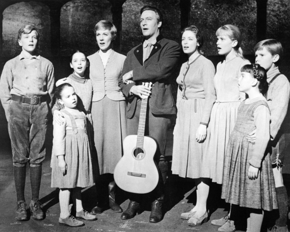 'sound of music' cast