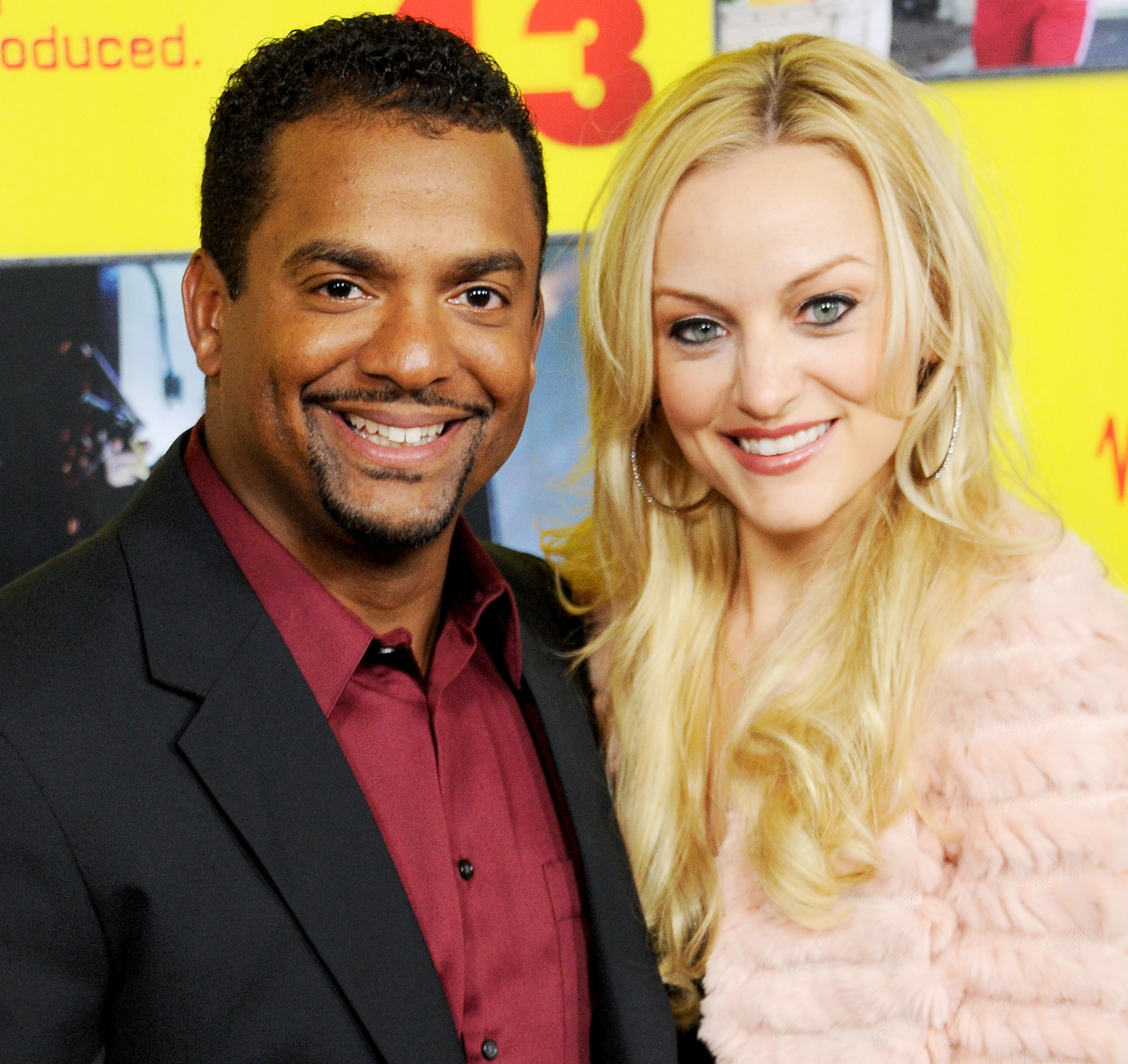 Alfonso Ribeiro And Wife Angela Unkrich Welcome Baby No 2 Closer Weekly