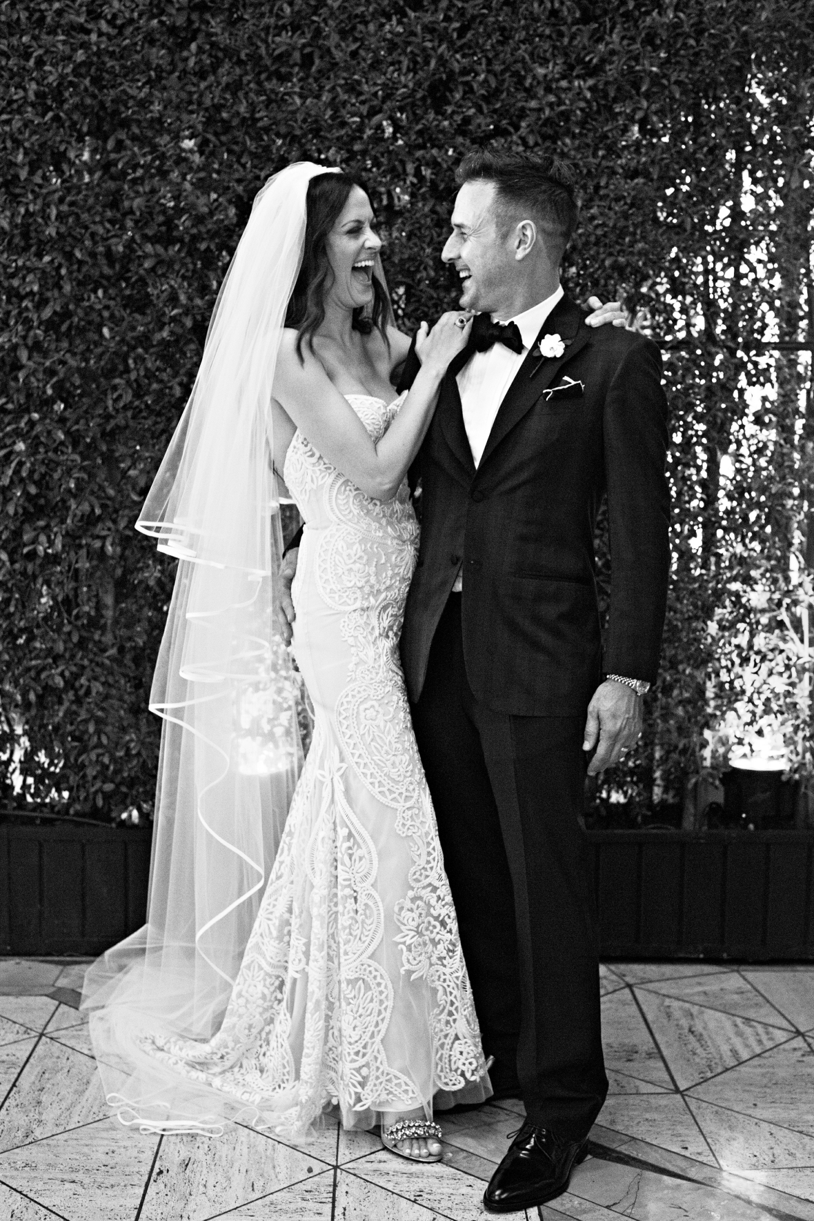 david arquette and christina mclarty wedding