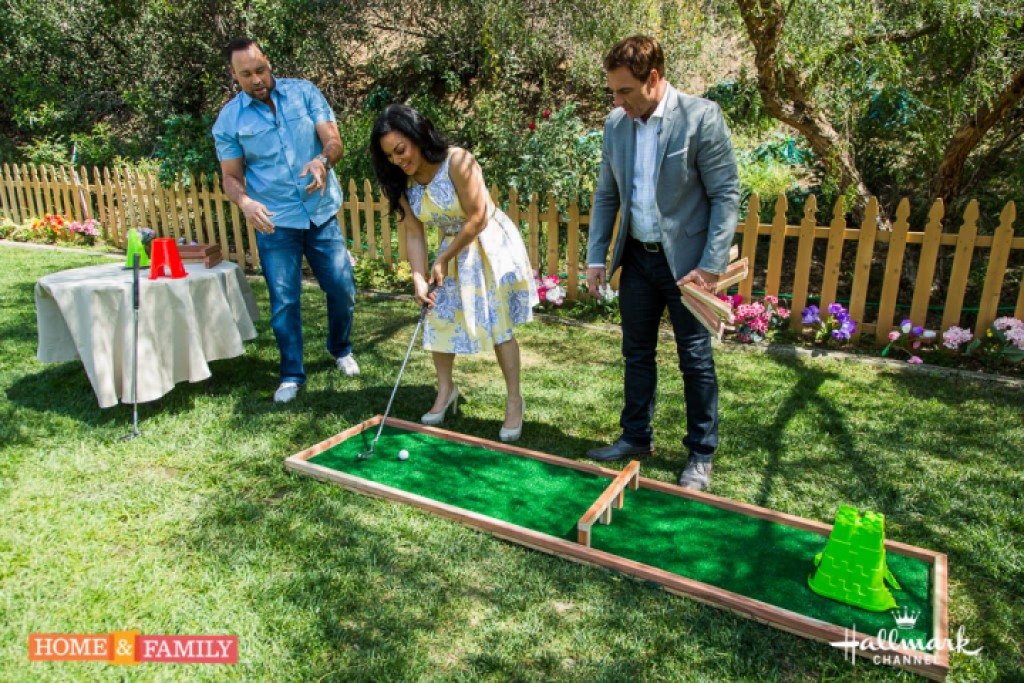 diy friday miniature golf course