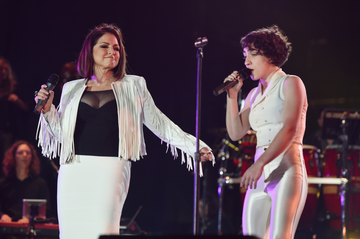 emily and gloria estefan