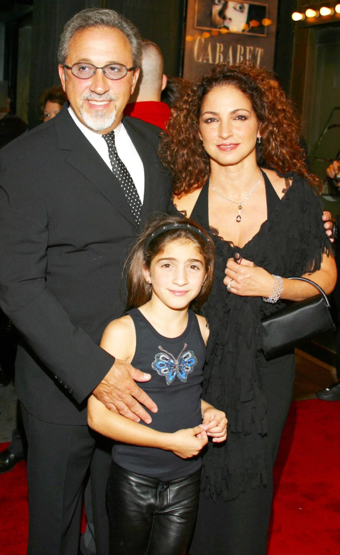 gloria estefan family