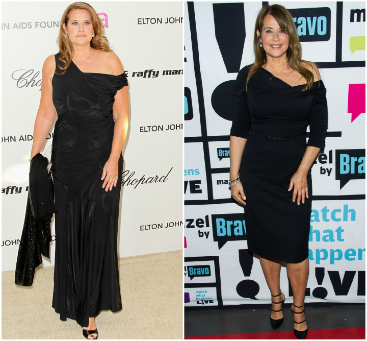 lorraine bracco before and after weight loss pic