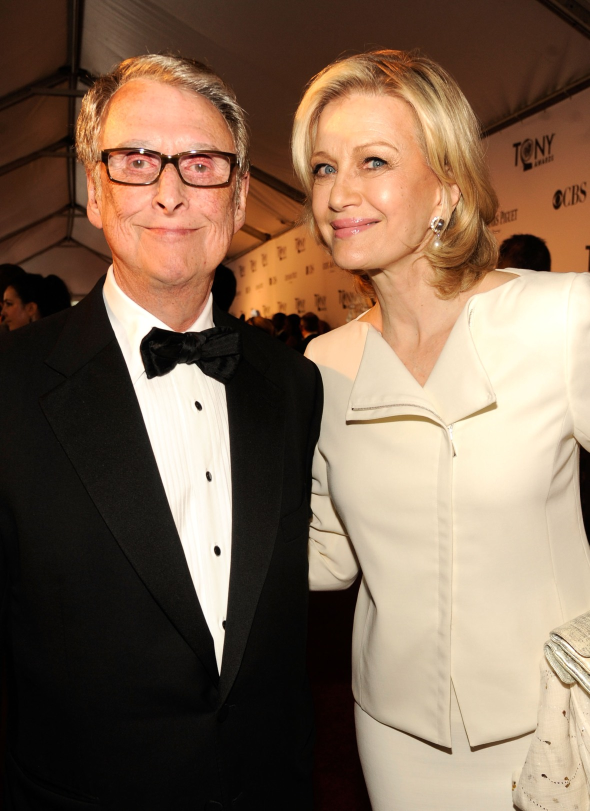 mike nicols and diane sawyer