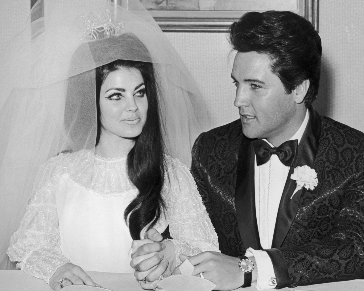 priscilla and elvis presley