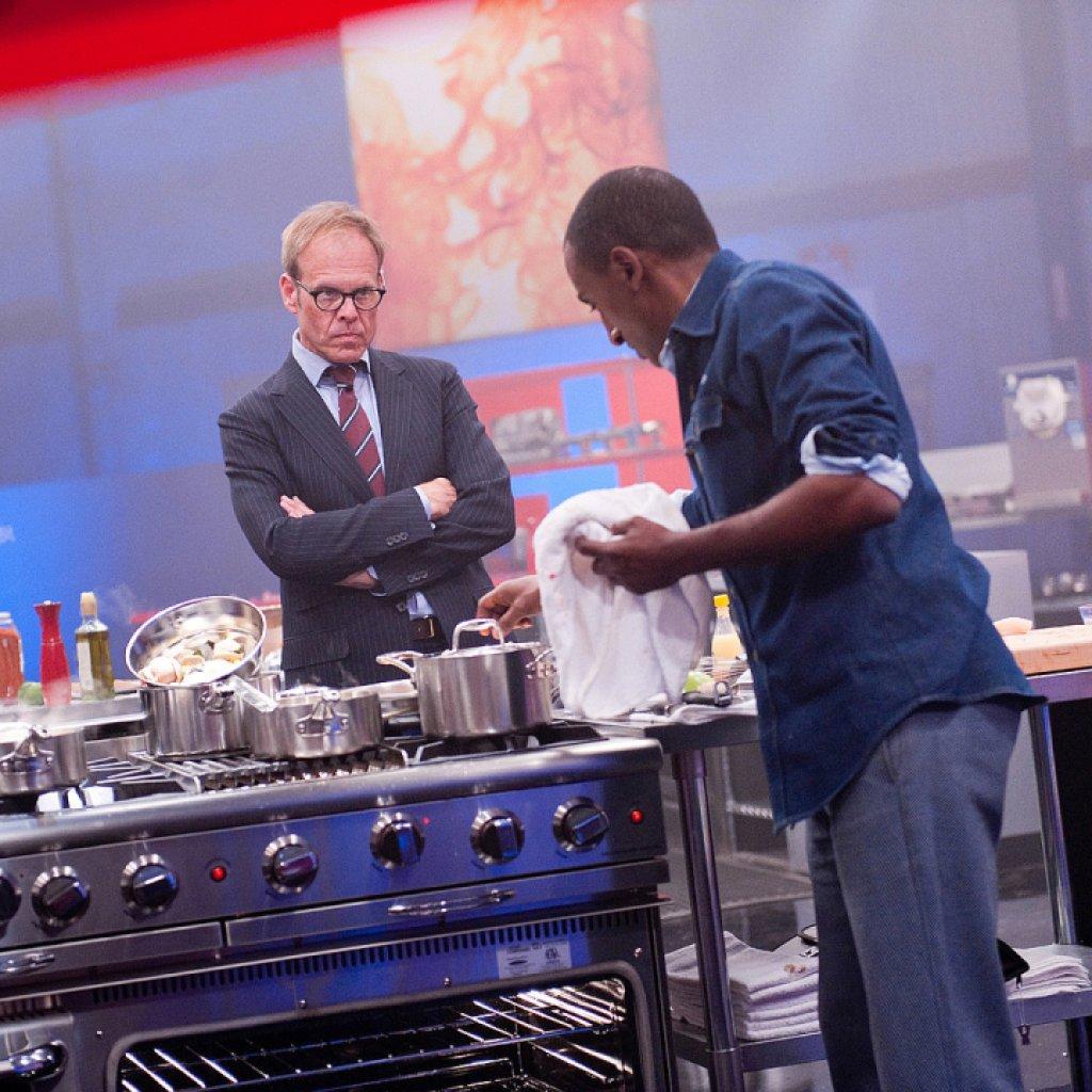 alton brown 'iron chef america'