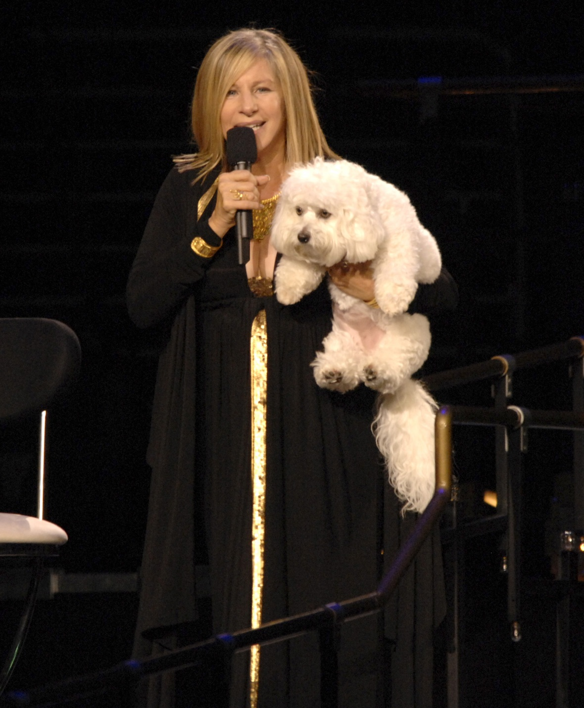 barbra streisand dog